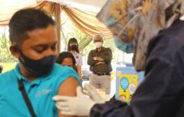 Dinkes Gelar Simulasi Pemberian Vaksin Covid-19