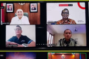 Panitia HPN 2021 Audiensi Virtual ke Ketua MPR RI dan Menteri Koperasi UKM