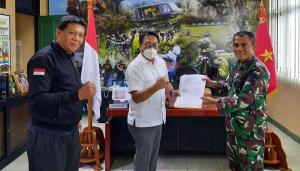 Mou KONI dan Disjas TNI AD, Khairul Beri Keleluasaan Atlet KONI Berlatih