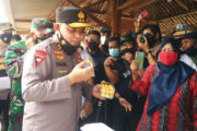 Kapolda Resmikan Kampung Tangguh Binaan Batalyon D Pelopor Satbrimob Polda Metro Jaya