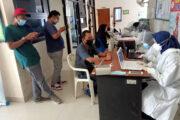 Sejumlah Wartawan Bertugas di Subang Mendapat Penyuntikan Vaksin