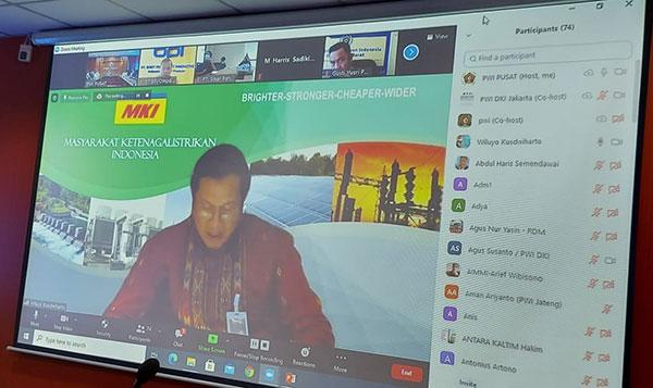 Ketum PWI Pusat Sambut Baik Webinar Pemanfaatan FABA Pembangunan Ekonomi