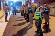 Polsek Binong Gelar Operasi Yustisi Pelaksanaan PPKM Darurat