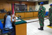 Pengadilan Militer, Gelar Sidang Penganiayaan Oknum TNI AL Terhadap Warga Sipil