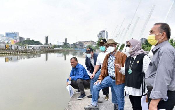 Komisi IV DPRD Jabar, Tinjau Pelaksanaan Proyek Sungai kalimang